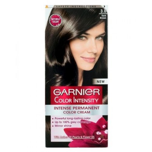 Garnier color intensity dark brown 3.0