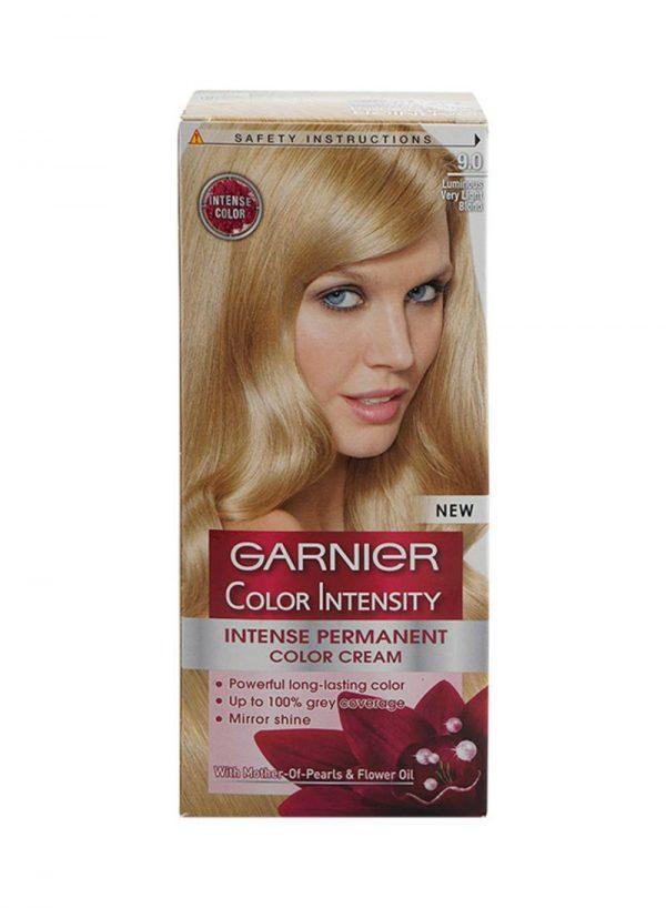 Garnier color intensity luminous very light blonde 9.0
