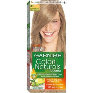 Garnier color naturals ash blonde 8.1