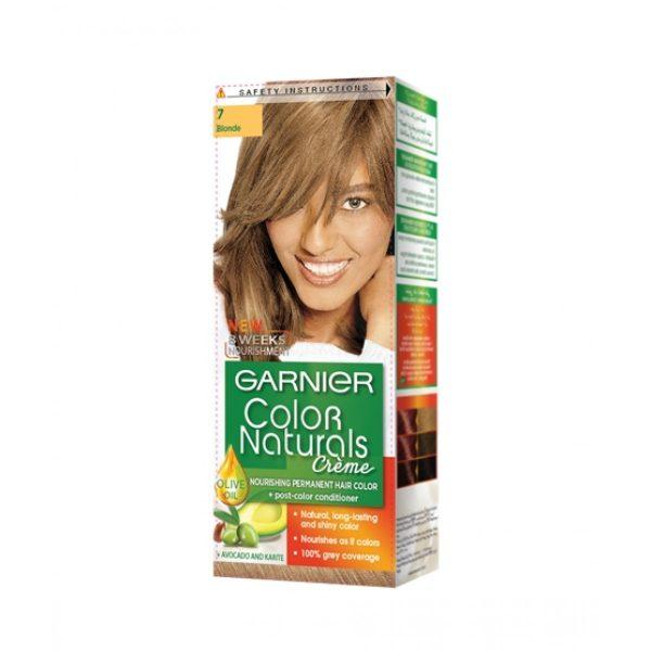 Garnier color naturals blonde 7