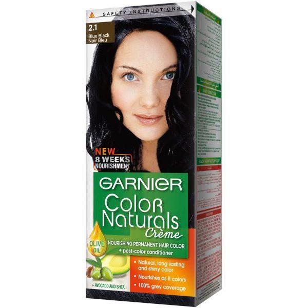 Garnier color naturals blue black 2.1
