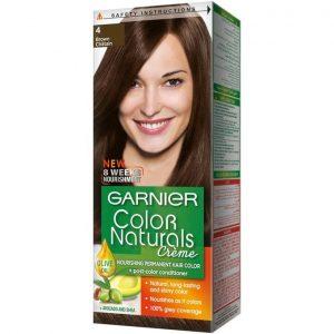 Garnier color naturals brown 4