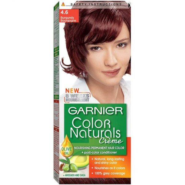 Garnier color naturals burgundy 4.6