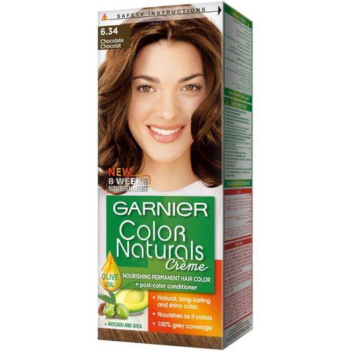 Garnier color naturals chocolate 6.34