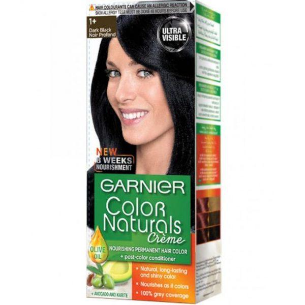 Garnier color naturals dark black 1