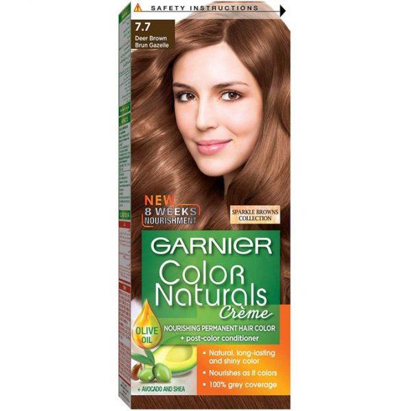 Garnier color naturals deer brown 7.7