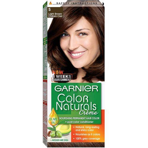 Garnier color naturals light brown 5