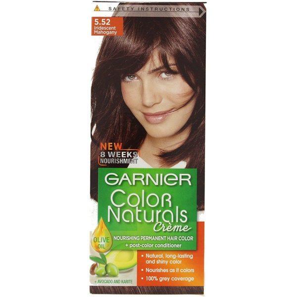 Garnier color naturals mahogany 5.52