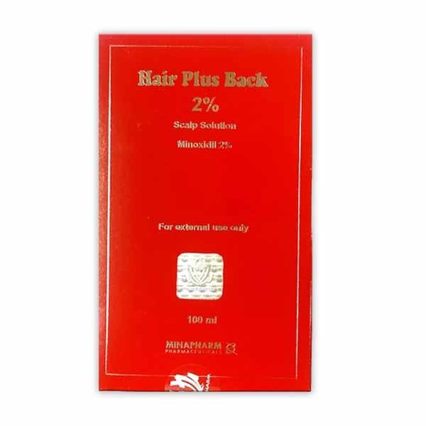 HAIR BACK PLUS 2 LOTION 1