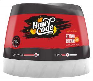 HAIR CODE STYLING CREAM SOFTNESS 8 SHINE 4 150ML