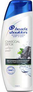 HEAD SHOULDERS SHAMPOO CHARCOAL DETOX 200ML