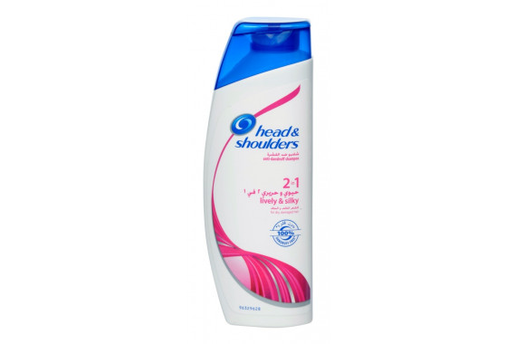 HEAD SHOULDERS SHAMPOO LIVELY AND SILKY 200ML