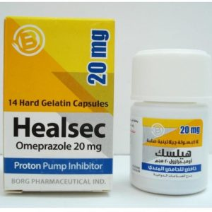 HEALSEC 20 MG 14 CAP