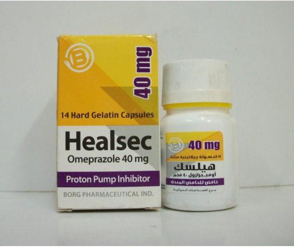 HEALSEC 40 MG 14 CAP