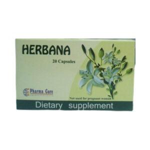 HERBANA 20 CAP 1