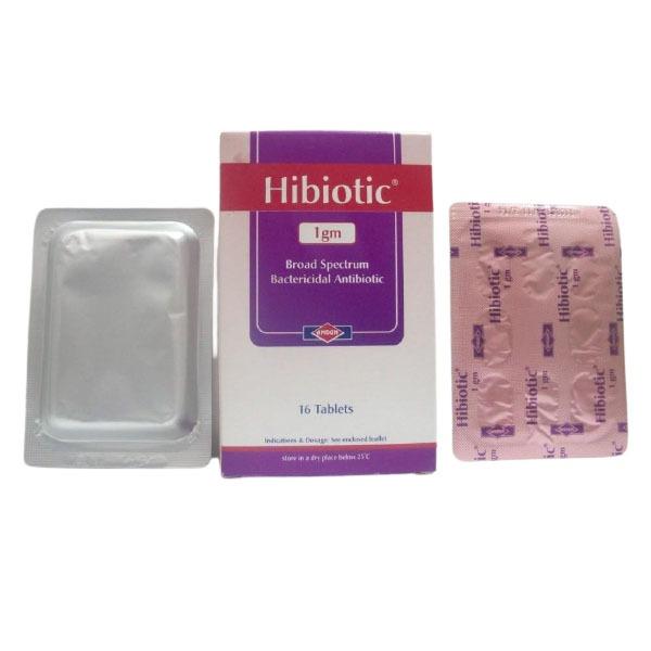 HIBIOTIC 1 GM 16 TAB 1