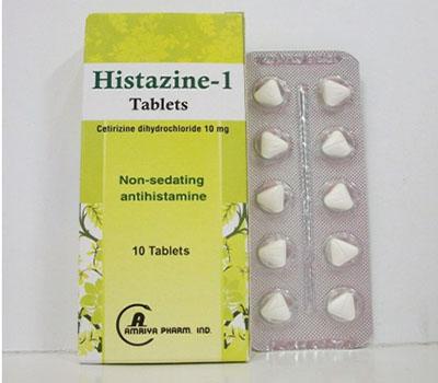 HISTAZINE 1 10T