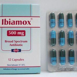 IBIAMOX 500 MG 12 CAP