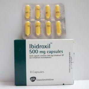 IBIDROXIL 500 MG 8 CAP