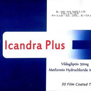 ICANDRA PLUS 50 1000MG 30TAB.