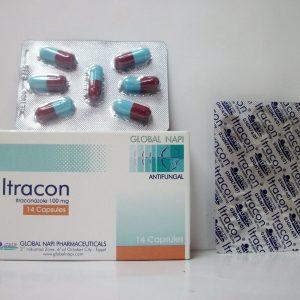 ITRACON 100MG 14CAPS