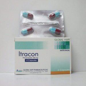 ITRACON 100MG 4CAP