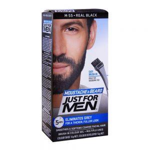 JUST FOR MEN BEARD COLOR REAL BLACK M 55