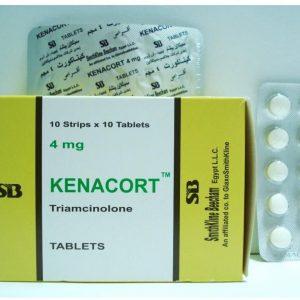 KENACORT 4MG 100T