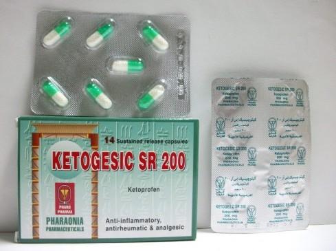 KETOGESIC SR 200 14CAP