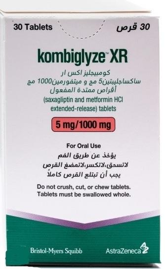 KOMBIGLYZE XR5 1000 30TAB