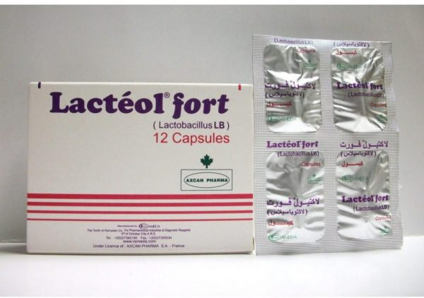 LACTEOL FORT 12 CAP