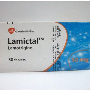 LAMICTAL 50MG 30TAB