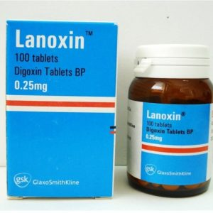 LANOXIN 0.25 MG 100 TAB