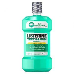 LISTERINE MOUTH WASH TEETH GUM DEFENCE