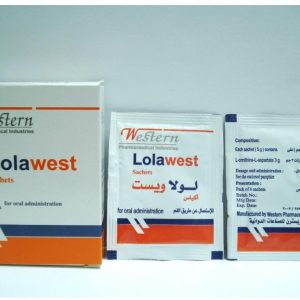 LOLAWEST SACHETS 6 PACKT