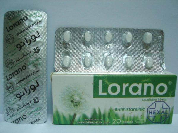 LORANO 10 MG 20 TAB