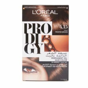 LOREAL PRODIGY EXTRAORDINARY FROSTED BROWN 4.15 1