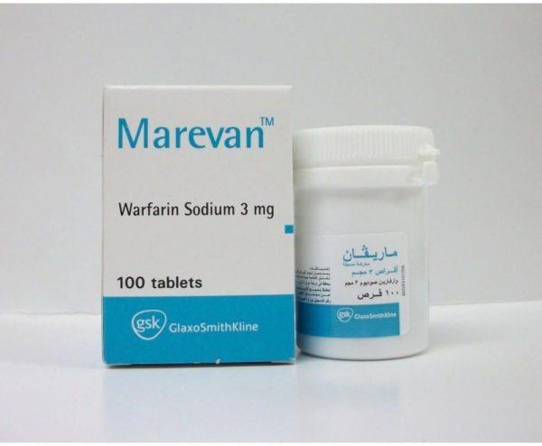 MAREVAN 3 MG 100 TAB