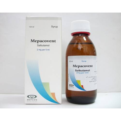 MEPACOVENT 120ML SYRP.