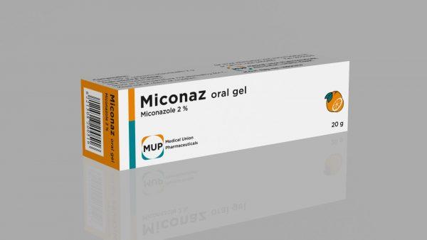 MICONAZE ORAL GEL