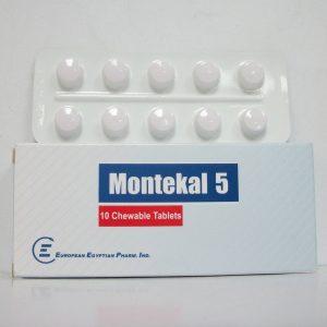 MONTEKAL 5MG 10T
