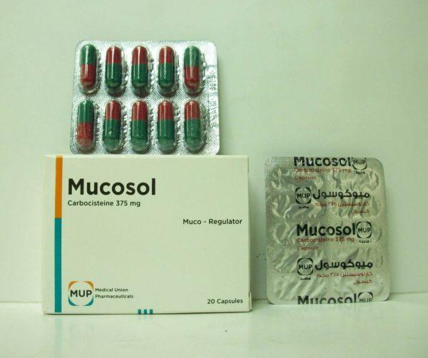 MUCOSOL 20 CAP