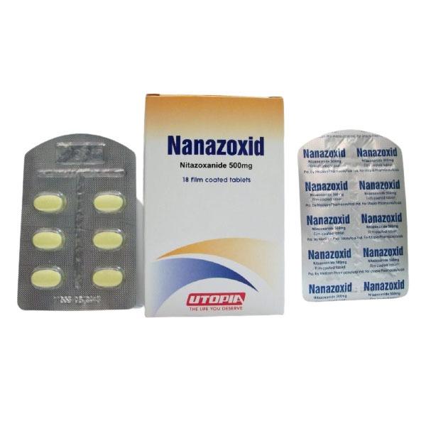 NANAZOXID 500 MG 18TAB 1