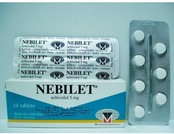 NEBILET 5 MG 14 TAB