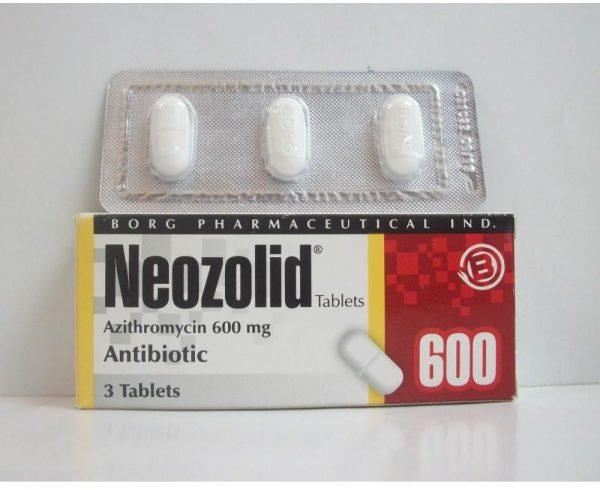 NEOZOLID 600 MG 3 TAB