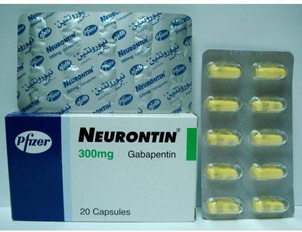 NEURONTIN 300 MG 20 CAP