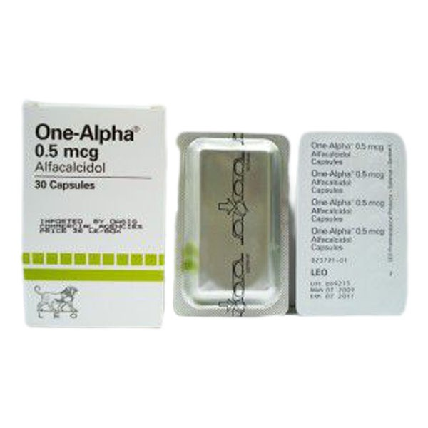 ONE ALPHA 0.5 MIC 30 CAP 1