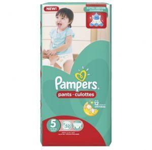 PAMPERS PANTS 5 52 DIAPER.