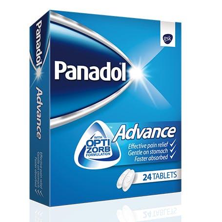 PANADOL ADVANCE 24TAB.