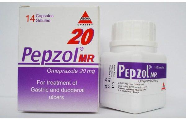 PEPZOL MR 20 MG 14 CAP